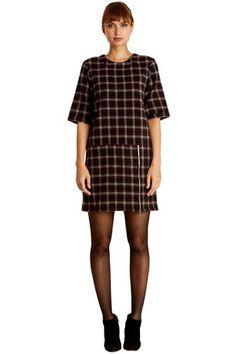 Annette Check Dress