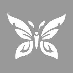 Vlinder sjabloon - Maak op maat en bestel
