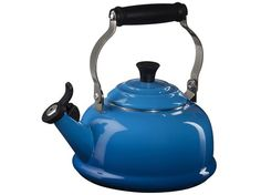 Marseille Whistling Kettle from Le Creuset. Now that's singing the blues...