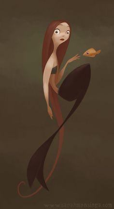 Sarah Mensinga mermaid