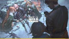 Game Character, Character Concept, Anime Military, Girls Frontline, Awesome Anime, Sci Fi Art, Manga Art, Game Art, Art Girl