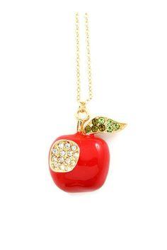 Emma Stine apple pendant