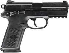 FNH USA FN FNX-9, 9mm, DA/SA, Black, 17RD Mag