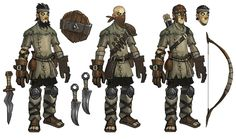 Torchlight Fansite, backed by ModDrop Character Design References, Game Character, Character Concept, 2d Game Art, 2d Art, Torchlight 2, Character Design Tutorial, Girl Artist, Low Poly Models