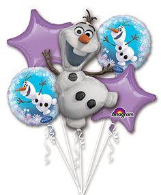 Disney OLAF from Frozen Birthday Foil Balloon by BigCatCrafts