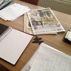 Clean desk.... of is het gewoon hard werken?