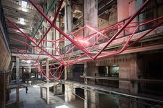 ungrid installation by FAHR 021.3 and simon kassner at DMY berlin 2015