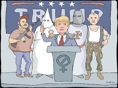 Mary Zinc (2016-06-14) USA: Make America Hate Again, The demagoguery of hate