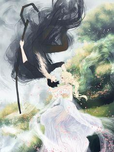 Jelsa as Hades and Persephone by Strongyu- Me : awww Dark Fantasy, Fantasy Art, Arte Digital Fantasy, Greek Mythology Art, Fantasy Couples, Jack And Elsa, Greek Gods And Goddesses, Hades And Persephone, Lore Olympus