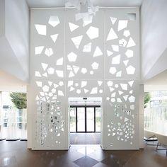 Origami et moucharabieh