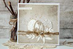 Inspirace... Velikonoční přání | Pretty Papers - přáníčka, scrapbook, tvoření z papíru...