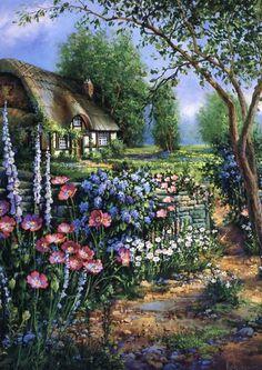 Cottage Charm by Sandra Bergeron