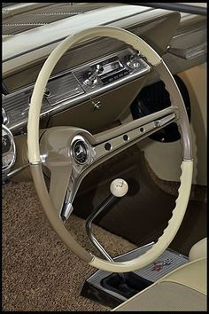 1962 Chevrolet Impala Anniversary Edition 409 CI presented as lot S60 at Indianapolis, IN 2012 - image6 #chevroletimpala1962 #chevroletimpala2012