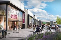 Steamrock Capital the real estate asset management in joint venture with Catalyst Capital has started construction of a prime retail park in Farnborough Hampshire after securing pre-lets for the entire space.