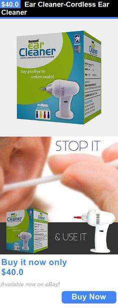 Ear Wax Removers: Ear Cleaner-Cordless Ear Cleaner BUY IT NOW ONLY: $40.0