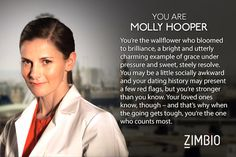 """My results on """"Which Sherlock Character Are You?"""" :D I love Molly, so I'm super pumped!!!!"""