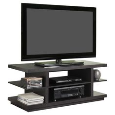 "Found it at Wayfair - Hollow Core 44"" TV Stand in Espresso"