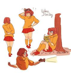 Velma Dinkley from Scooby Doo. Getting ready for a late night investigation. Cartoon Shows, Cartoon Art, Disney And Dreamworks, Disney Pixar, Samurai Jack, Scooby Doo Mystery Incorporated, Daphne And Velma, Velma Dinkley, Fanart