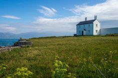 'Lighthouse Keepers Cottage' by Nathan Reading.  Situated near Trwyn Du Lighthouse, Nr. Penmon, Anglesey, Wales, United Kingdom