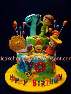 Jcakehomemade: Baby TV birthday cake