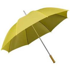 Budget Golf Umbrella - Yellow