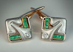Art Nouveau / Jugenstil Antique Diamond by RomanovRussiacom