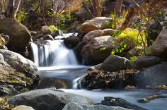 Rocky Falls by Steve Rengers on Capture Kern County // Long exposure view of the upper Kern River above Kernville
