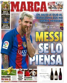 Messi não quer renovar com o Barcelona, diz imprensa espanhola https://angorussia.com/desporto/messi-nao-quer-renovar-barcelona-diz-imprensa-espanhola/