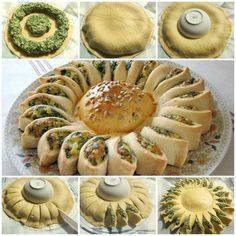 How to DIY Sunny Spinach Pie - There's not much chance of me actually making this, but I can dream. :)