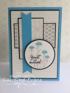 Carolina Evans - Stampin' Up! Demonstrator, Melbourne Australia: Wild About Flowers for #GDP008 - CASE Kylie Bertucci #carolinaevans #studioevans #stampinup #handmade