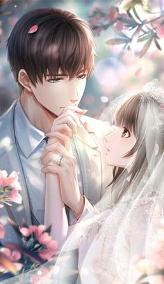 Pin on anime&manga Couple Anime Manga, Couple Amour Anime, Anime Cupples, Anime Love Couple, Anime Love Story, Manga Love, Art Anime Fille, Anime Art Girl, Anime Girls