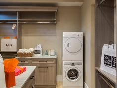 Plan - great idea to have a washer and dryer in the master closet House Plans And More, Luxury House Plans, Bedroom Color Schemes, Bedroom Colors, Dream Home Design, House Design, Perfect Live, Home Storage Solutions, Best Architects