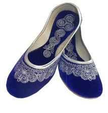 AU Size 7/7.5 Indian Handmade Embroidered Women Mojari Juti Shoes Jooti Flat
