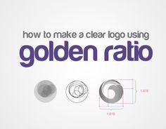 how to design a logo using golden ratio