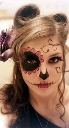 Trucco donna per Halloween - The house of blog