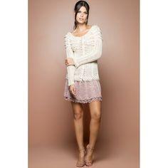 US$ 1,750.00 - Off Lady Like Crochet Coat - Vanessa Montoro USA - vanessamontorolojausa
