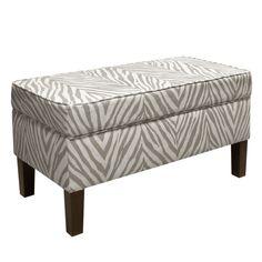 Skyline Furniture Sudan Upholstered Storage Bench & Reviews | Wayfair