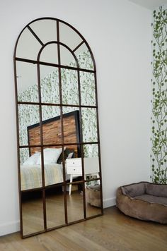 Decor Inspiration: Industrial Mirrors. Decoration Trends 2016 ~ Great pin! For Oahu architectural design visit http://ownerbuiltdesign.com