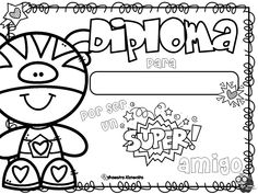 Coloring Pages, Preschool, Presents, Classroom, Cartoon, Black And White, Comics, Jenni, Awesome