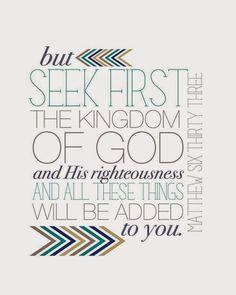 Matthew 5-7: Sermon on the Mount
