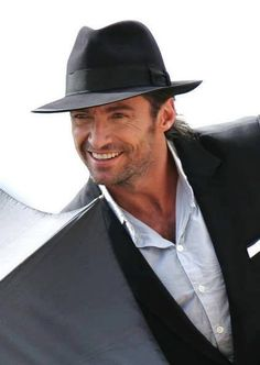 Get free image hosting, easy photo sharing, and photo editing. Upload pictures and videos, create with the online photo editor, or browse a photo gallery or album and create custom print products. Hugh Jackman, Hugh Michael Jackman, Pretty Men, Beautiful Men, Australian Actors, Great Smiles, The Greatest Showman, Cool Hats, Old Movies