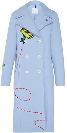 Light Blue Fly-Away Rocket Coat
