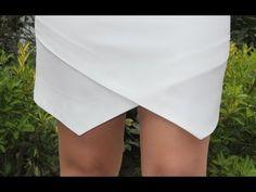 CURSO. Aprender a coser faldas parte 7: Cómo hacer el dobladillo. - YouTube