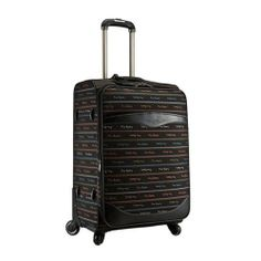 Genuine Pierre Cardin Carnival Luggage Expend Carry-On Travel Bag/ 27 inch Black