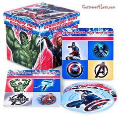 Avengers Scavenger Hunt Party Game