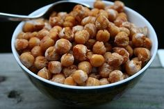 Gojee - Oven Roasted Sweet and Spicy Chickpeas by A Thought for Food