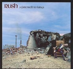 Rush - A Farewell to Kings.  I thought the morning called for a little 70s Prog Rock.  What of it?
