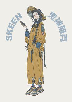 Character Concept, Character Art, Concept Art, Pretty Art, Cute Art, Japon Illustration, Character Design References, Character Design Inspiration, Character Illustration
