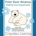 *New* Freebie from Crayonbox Learning! Polar Bear Science. A fun science experiment where students predict, and learn whether salt water, or fresh water melts ice cubes faster!