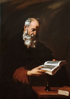 Jusepe de Ribera Saint Anthony the Abbot (ca. 1615) Colección El Conventet, Barcelona